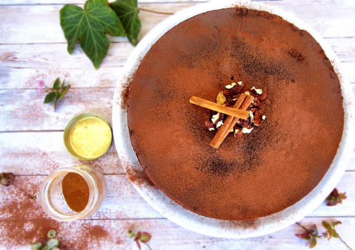 recette gateau au chocolat facile, moelleux grec traditionnel au chocolat et gélatine