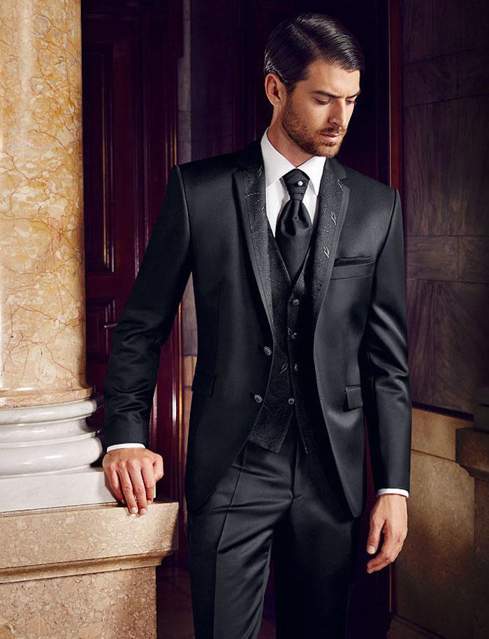 1001 id es costume 3 pi ces homme tenue de salon en trois actes. Black Bedroom Furniture Sets. Home Design Ideas