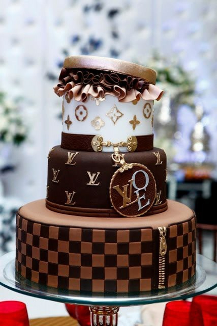 Mode gâteau anniversaire adulte gateau facile et original