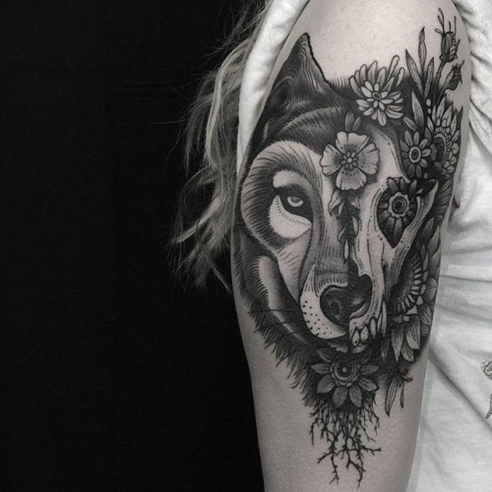 Beaux tatouages idée quel sont les plus beaux tatouages loup