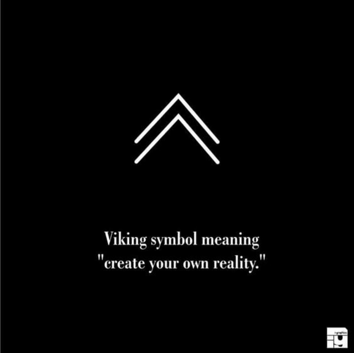 Superbe tatouage symbole liberté tatouage cool idée symbole viking tatouage créer son réalité