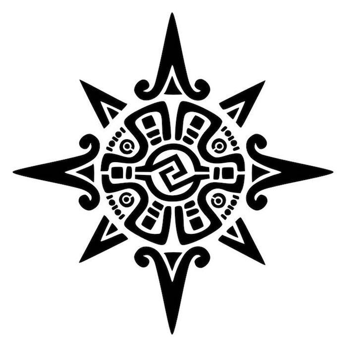symbole soleil polynesie tattoo tahitien tatouage polynésien design pacifique culture hawai