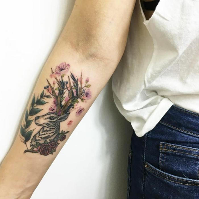 Modele tatouage homme les meilleurs tatouages cool fleurs