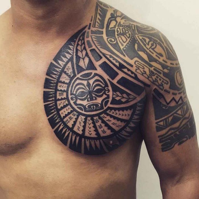1001 Idees Tatouage Maori Encre Ciel Et Mer