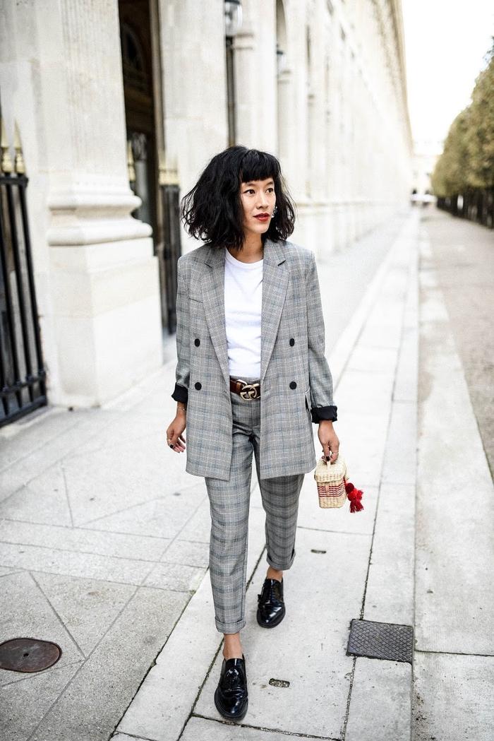 3d49f5de3360 Le tailleur femme chic – plus de 100 idées de look pour une femme de  caractère ...