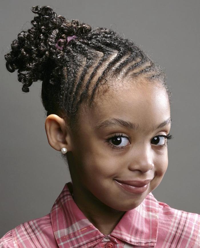 comment faire des tresses collées pour fille afro