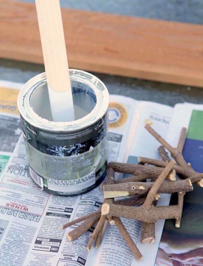 tuto comment fabriquer patere facile bois de recup
