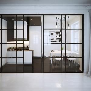 La cuisine ouverte avec verrière - conseils et idées comment l'aménager d'une manière parfaite