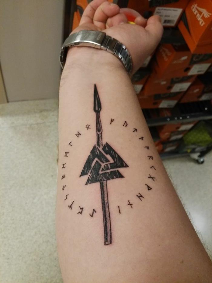 Tatouage nordique tatou symbole viking signification tattoo
