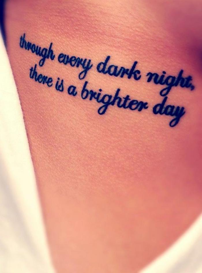 Tatouage citation les plus beaux tatouage femme cote tatouage