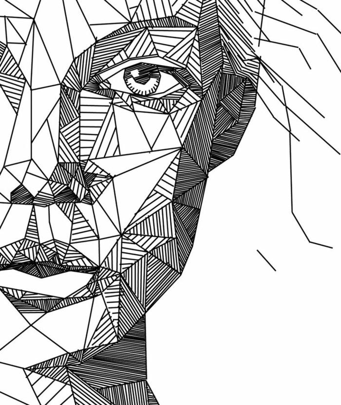 Line Art Define : Images du dessin géométrique magnifique pour vous