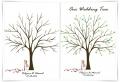 L'arbre à empreinte mariage – un souvenir à valeur sentimental pour ne jamais oublier votre jour J