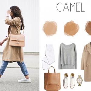 Booster sa féminité, élégance et beauté en intégrant la couleur camel dans son quotidien