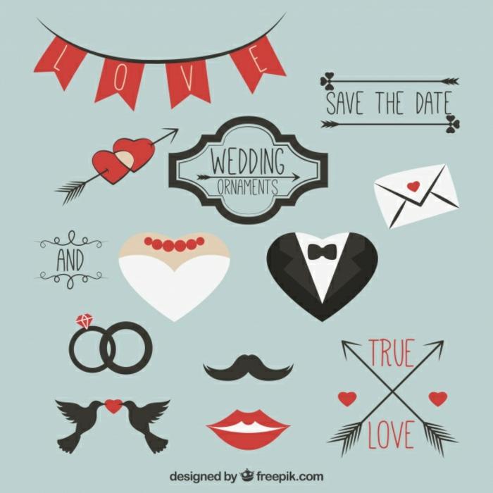 1001 Idées De L Illustration Mariage Pour Célébrer Votre Amour