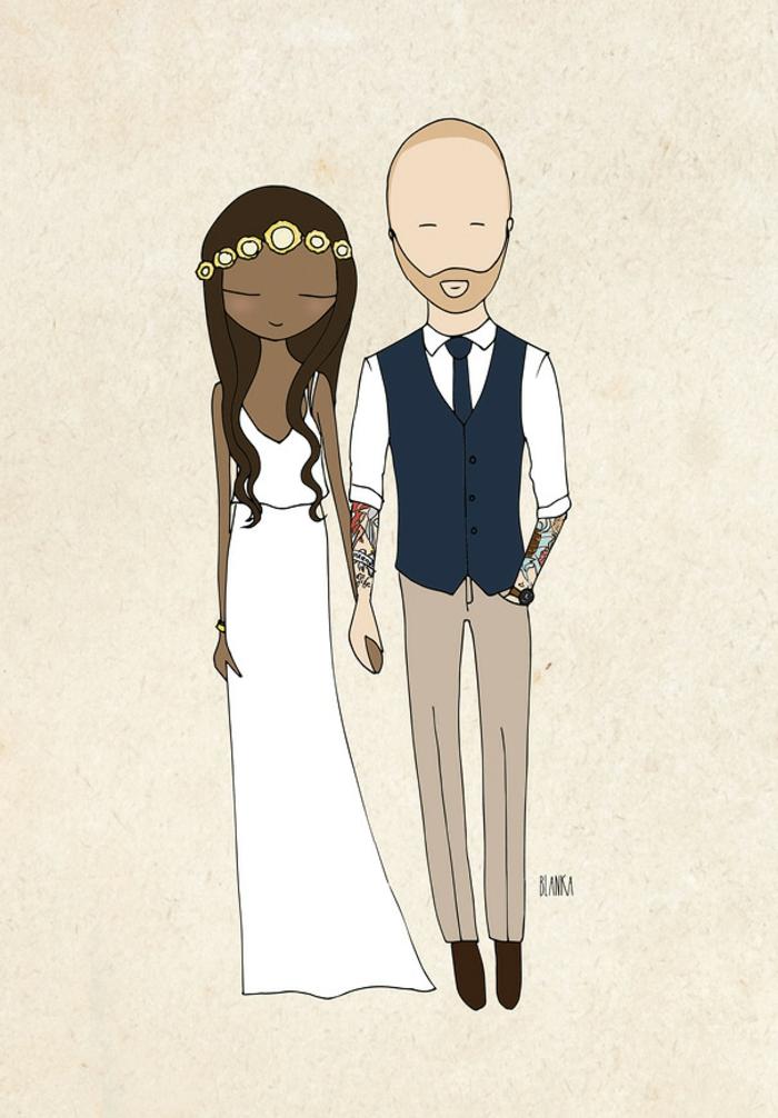 Clipart mariage mariage image dessin humoristique mariage
