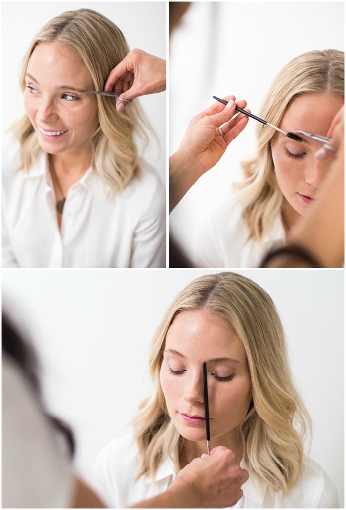 comment maquiller les sourcils blonds, définir la bonne forme des sourcils selon le visage et les produits à utiliser
