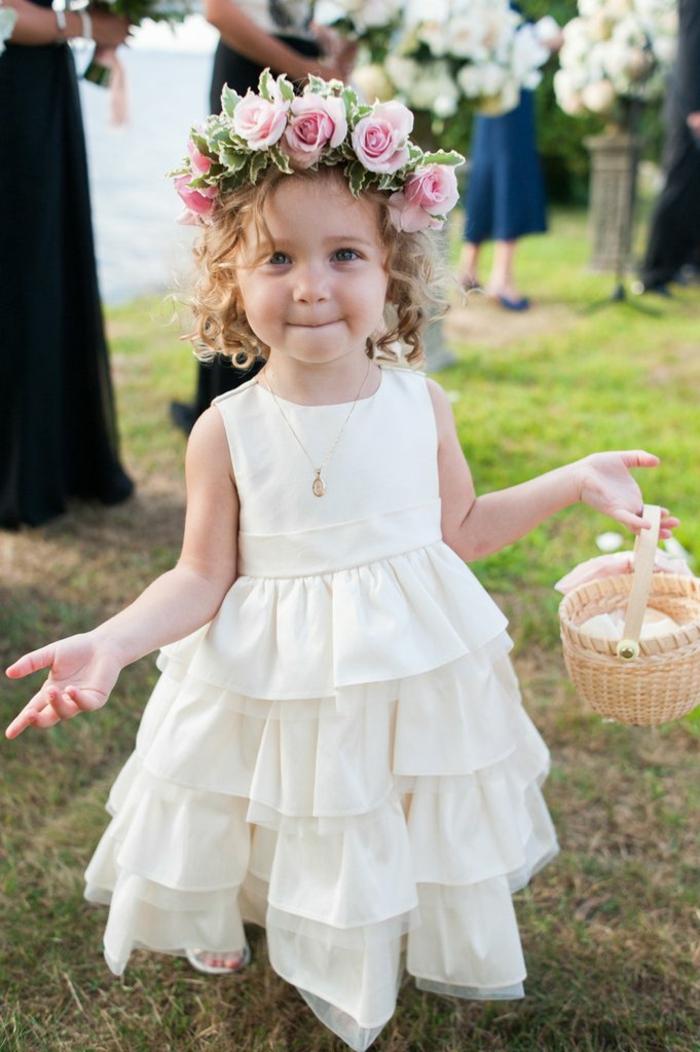 La robe ceremonie fille robe de demoiselle d honneur magnifique tenue