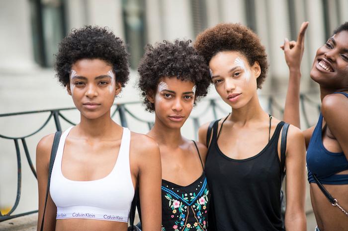 filles metisses cheveux crepus courts pour idée coiffure afto