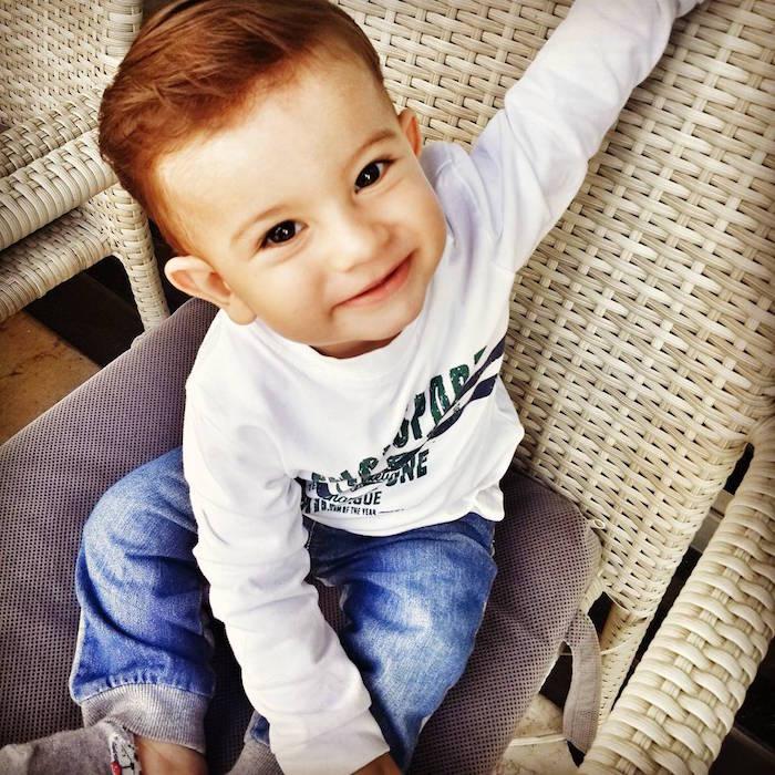 modele coupe cheveux bébé garçon roux 1 an