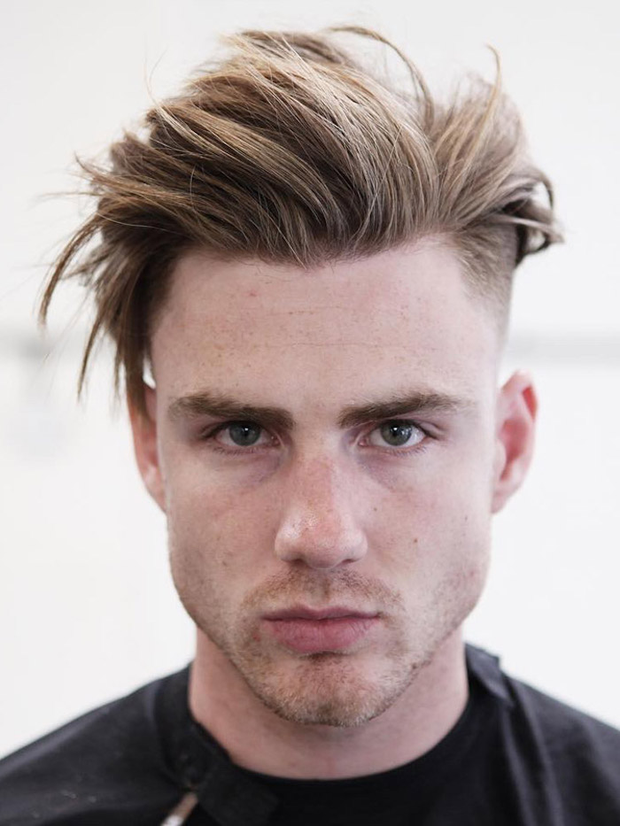 coiffure homme court long