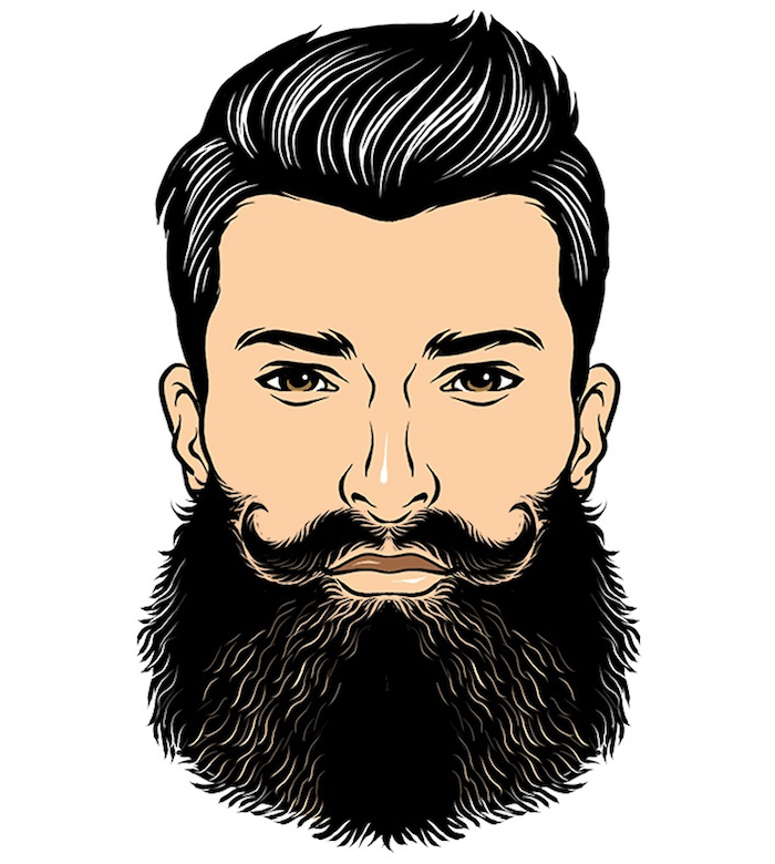 tailler sa barbe en broussaille large bushy beard homme
