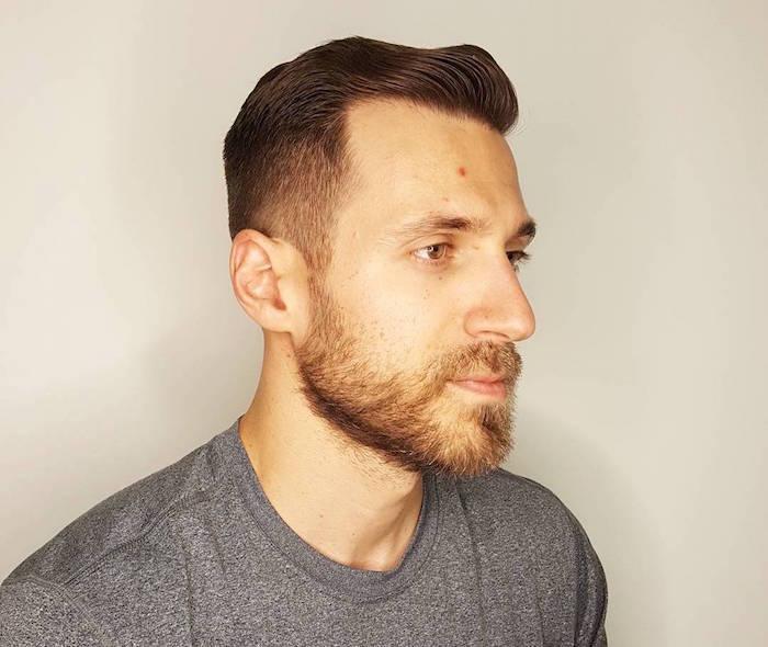 coiffure homme court et barbe