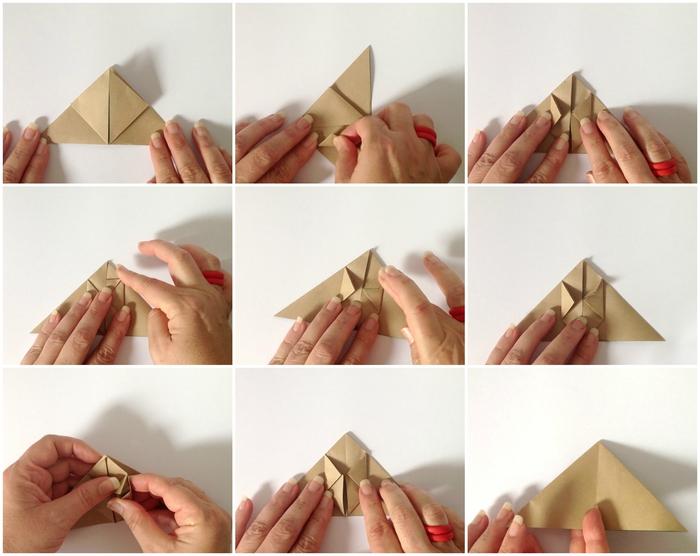 comment créer un mobile déco de lapins en origami faciles à réalise, tuto pliage de papier pour réalise une jolie déco d'intérieur