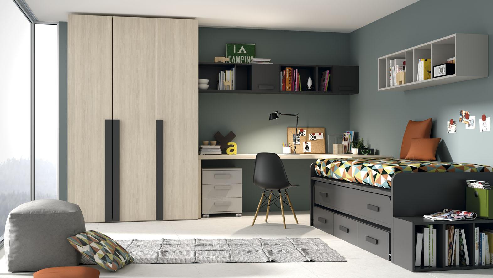 1001 Idees Pour Une Deco Chambre Etudiant Des Interieurs Gain De Place Originaux