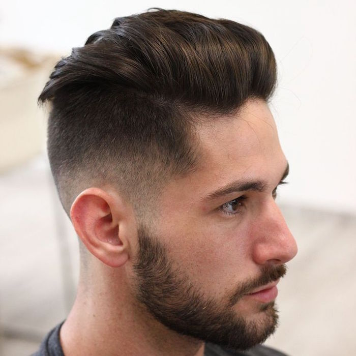 Coupe homme quiff