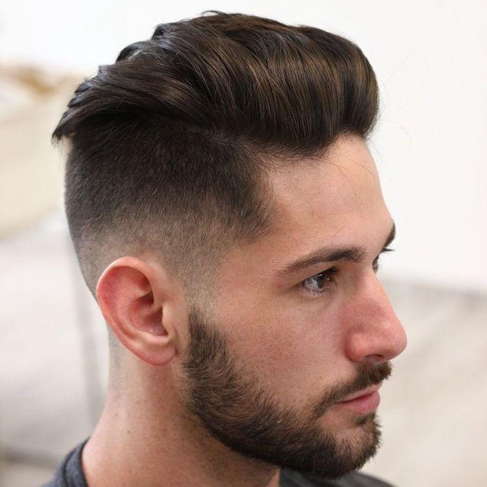 coiffure homme degrade progressif