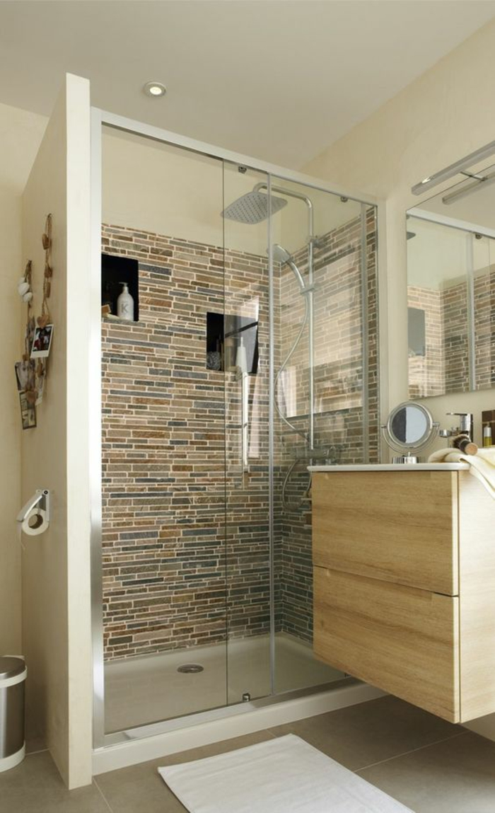 Salle De Bain En Longueur ▷ 1001 + idées pour une salle de bain 6m2 + comment