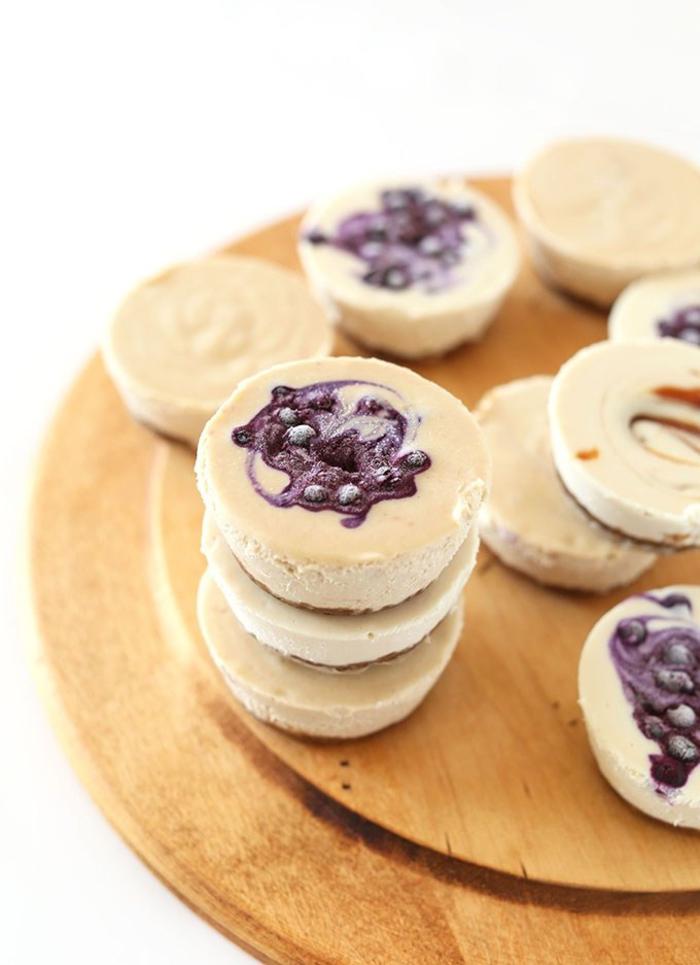 dessert diététique original façon mini-cheesecake vegan aux noix de cajou
