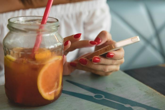 Vernis semi permanent l oréal décorer ses ongles rouge
