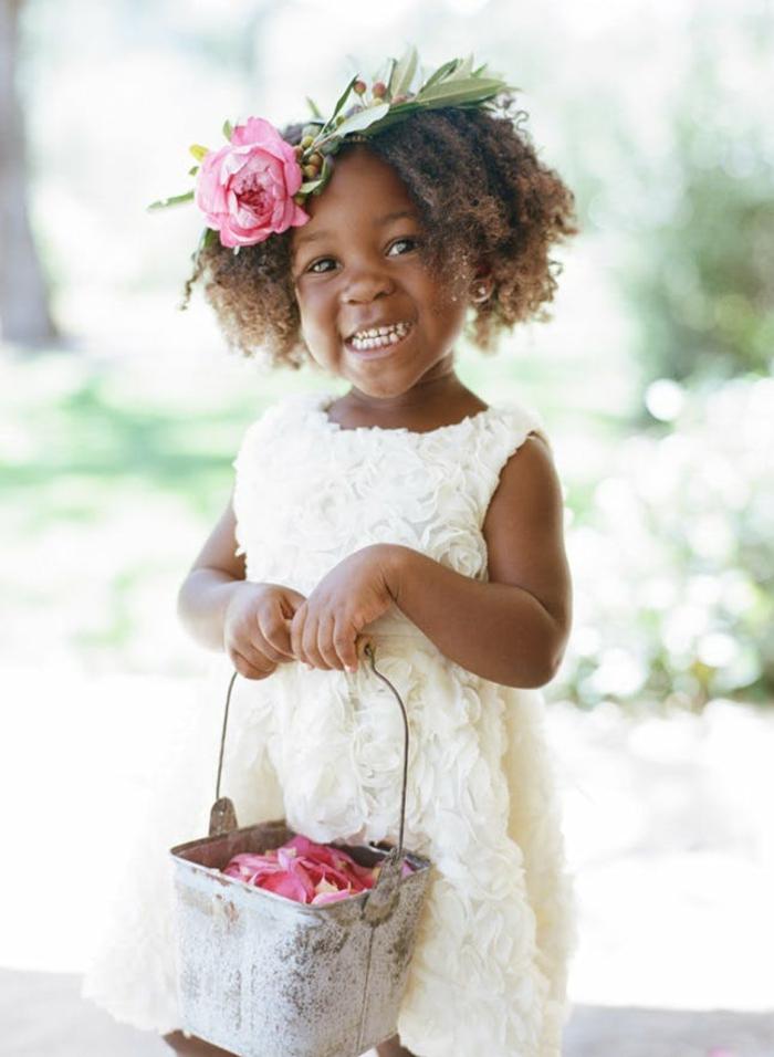 Princesse robe de soirée fille robe demoiselle d honneur fille robe pour fille robe blanche roses