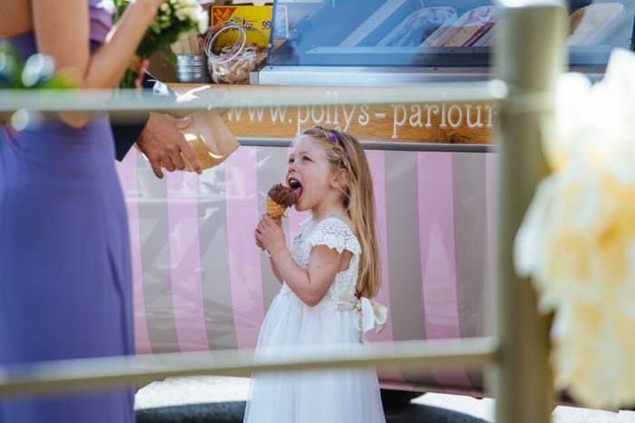 Robe princesse fille mariage robe cérémonie bébé fille idée tenue petite fille