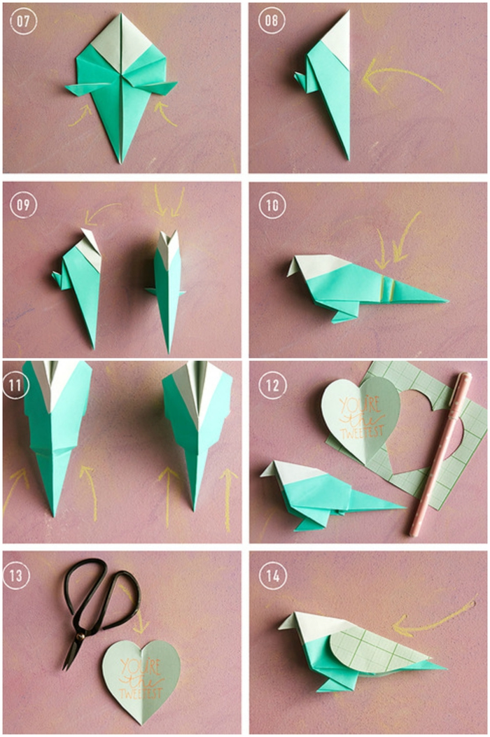 1001 id es de bricolages pour apprendre l 39 art de pliage en papier origami facile. Black Bedroom Furniture Sets. Home Design Ideas