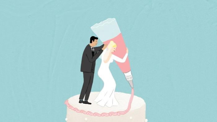 Anneau dessin colombe pour mariage image fiançailles gratuit gateau décoration