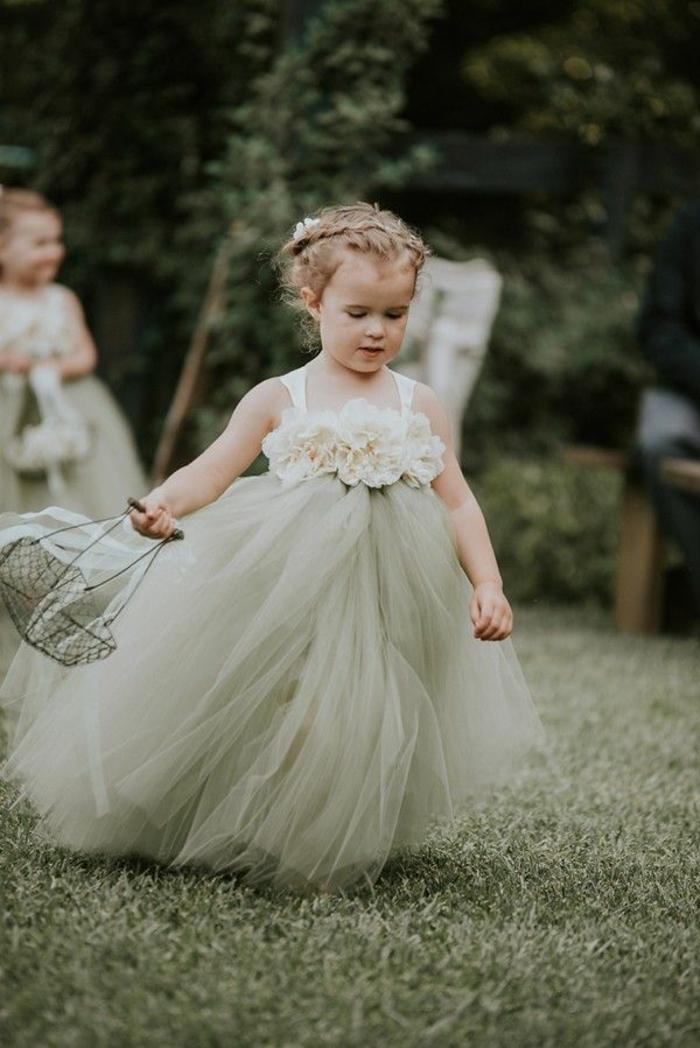 Idée robe cérémonie bébé fille robe demoiselle d honneur fille idée tenue