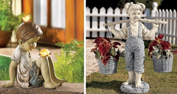 Mille d id es pour offrir le meilleur cadeau f te des Figurine pour jardin