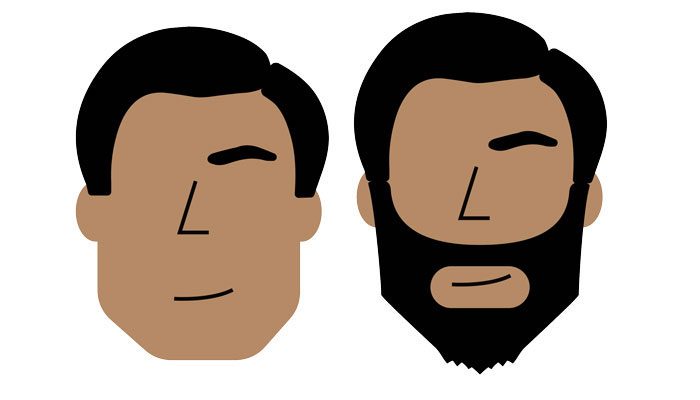 style de barbe pour visage carre homme quelle barbe