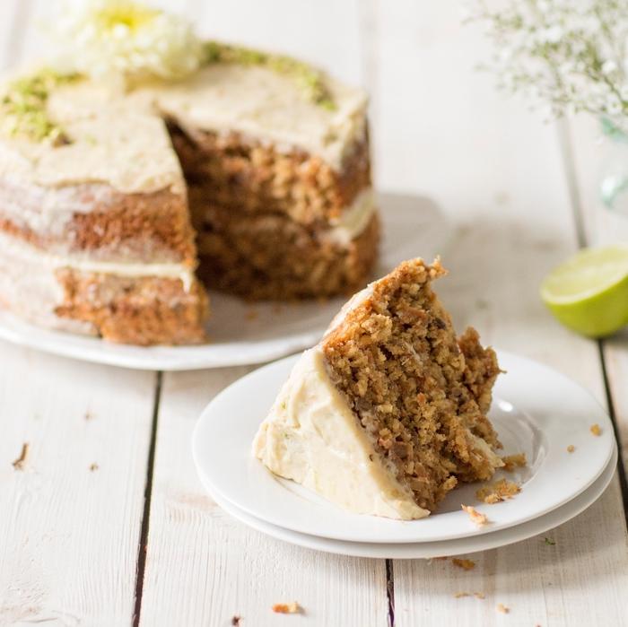 idée pour un gateau facile et original idéal après un repas du soir, gâteau aux carottes et muscovado ultra moelleux