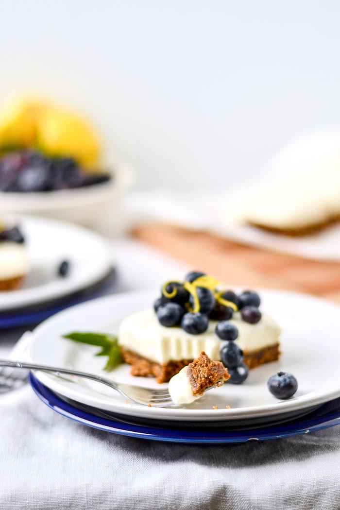 recette gourmande mais peu calorique de gateau facile et original, recette de cheesecake léger au yaourt sans cuisson