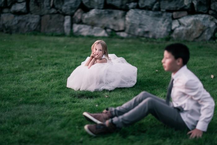 Robe cérémonie bébé fille robe de bapteme princesse robe pour un enfant fille