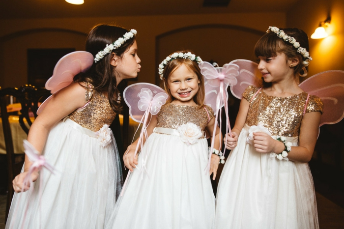 Merveilleuse robe cérémonie bébé fille robe demoiselle d honneur fille les enfants avec matching robes