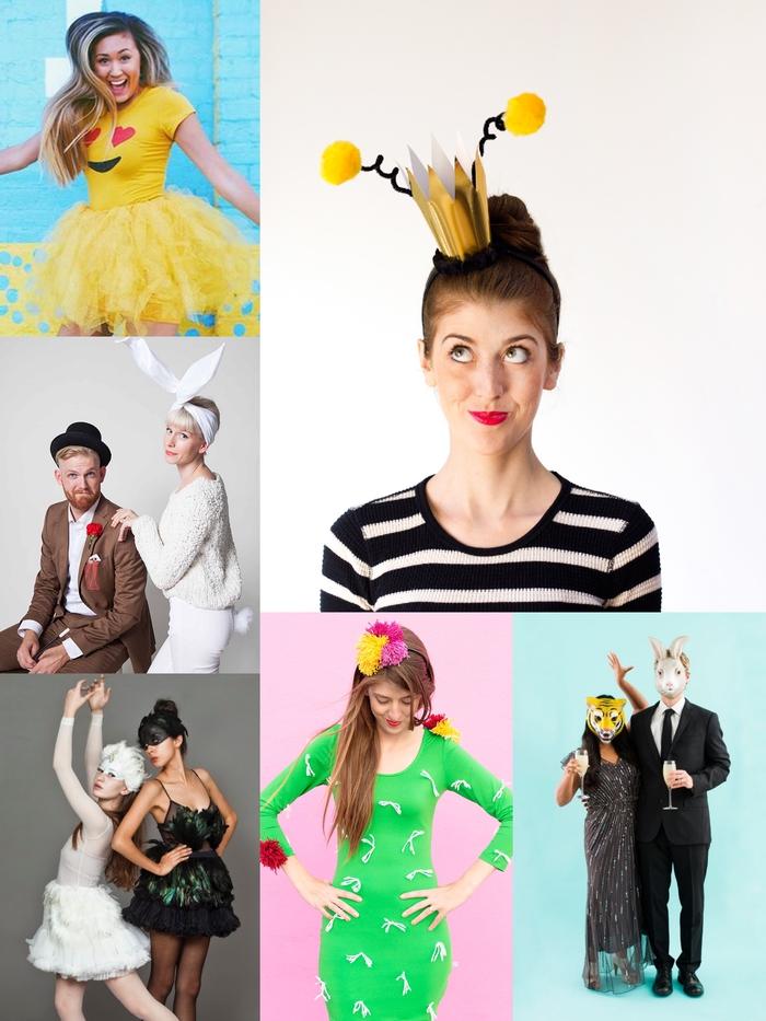 idées pour un thème de soirée déguisée avec des costumes originaux personnalisés qu'on peut réaliser soi-même