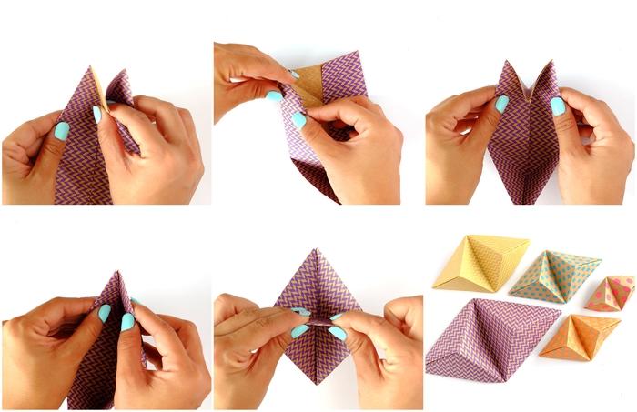 comment faire des origami 3d qui servent aussi de support pour smartphone original