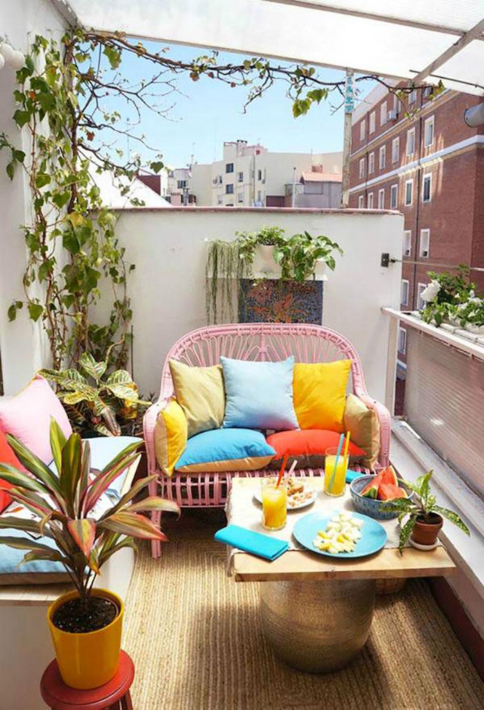 ▷ 1001 + idées | Aménagement balcon – l\'optimisation comme maître-mot