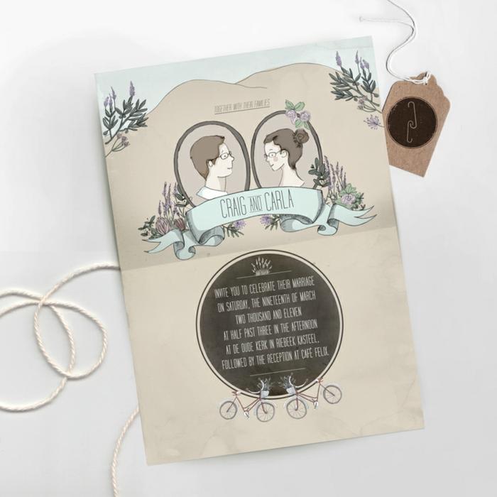Illustration pour livret de messe mariage symbole mariés
