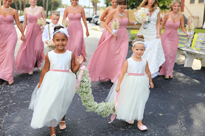 Robe ceremonie fille robe petite fille d honneur ceremonie robe pour fille
