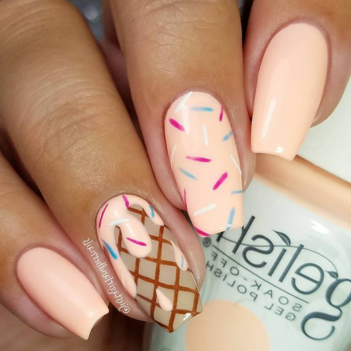 Cool vernis semi permanent nude vernis semi permanent french ice cream